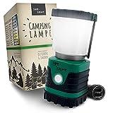 SWE-LIGHT – Premium Campinglampe – Ultra helle LED Campinglampe aufladbar – 4 Beleuchtungsmodi...