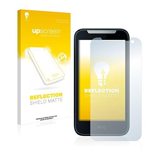 upscreen Entspiegelungs-Schutzfolie kompatibel mit HTC Desire 310 – Anti-Reflex Bildschirmschutz-Folie Matt