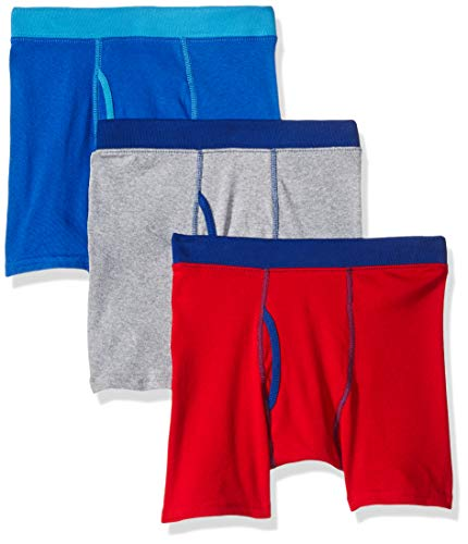 Hanes Boys 4-18 ComfortSoft Dyed Boxer Briefs, 3 Pack