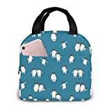 Penguin Atlantic Lunch Bag Tote Bag Lunch Bag for Women Lunch Box Insulated Lunch...