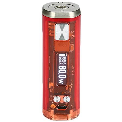 Wismec SINUOUS V80 TC Akkuträger Box Mod Farbe Rot