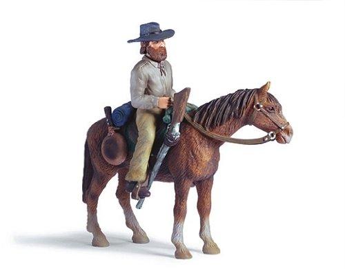 SCHLEICH 70304 - Trapper auf Pferd