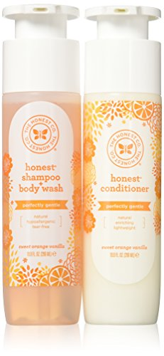 The Honest Company Shampoo & Conditioner Set, 8.5 oz bottles by The Honest Company