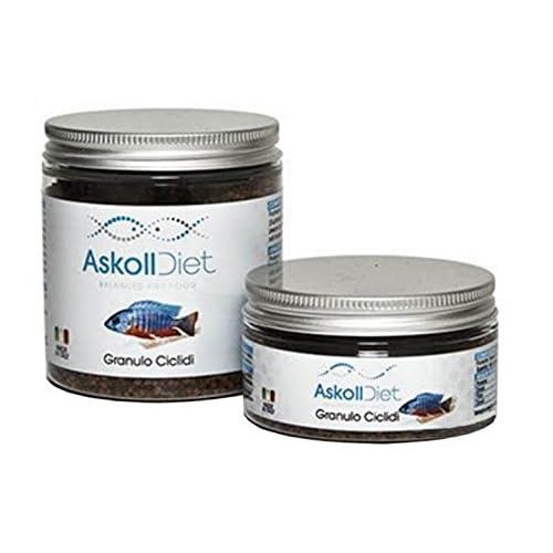 ASKOLL 280518 Diet Mangime per Pesci in Granuli Ciclidi, S