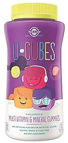 U-Cubes Multivitamin and Minerals 60 GOMINOLAS Solgar