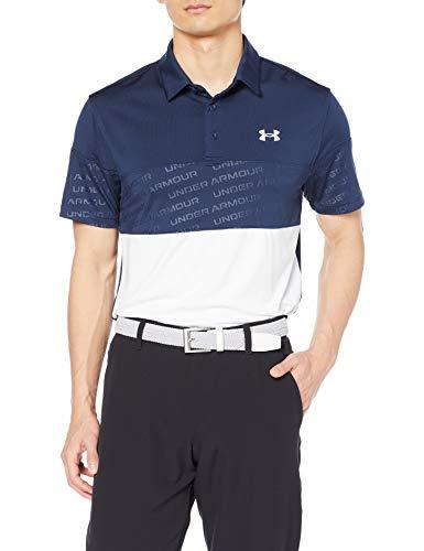 [UNDER ARMOUR(アンダーアーマー)]ポロシャツ UA Playoff 2.0 Blocked Polo メンズ 408 日本 XXL (日本サイズ3L相当)