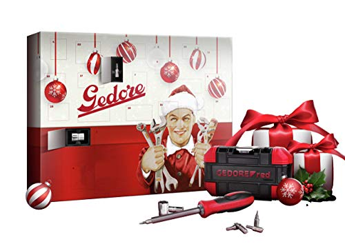 GEDORE red R38012024 Adventskalender 2020, Limited Edition, 24 teilig
