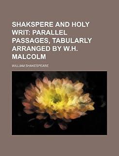 Shakspere and Holy Writ