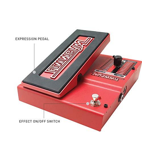 DigiTech Whammy 5 - Harmonizer/Pitch Shifter for E-Guitar, Rojo