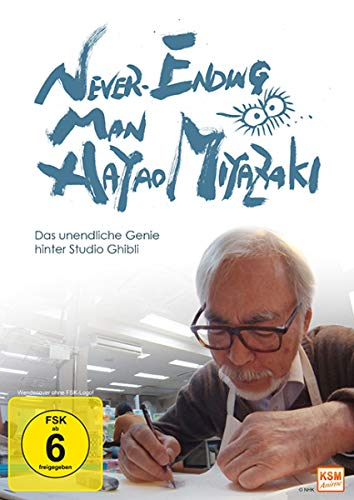 Never Ending Man: Hayao Miyazaki - Das unendliche Genie hinter Studio Ghibli [DVD]