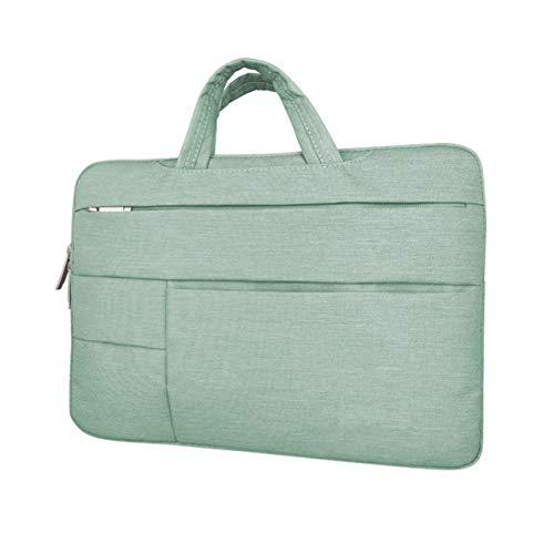 YYXJLG Bolsa de Ordenador,Laptop Sleeve Case Bag for Lenovo Yoga 520 530 510 ThinkPad T480s L480 E485 AMD E490s 14,Light Green,All 12 Inch Laptop