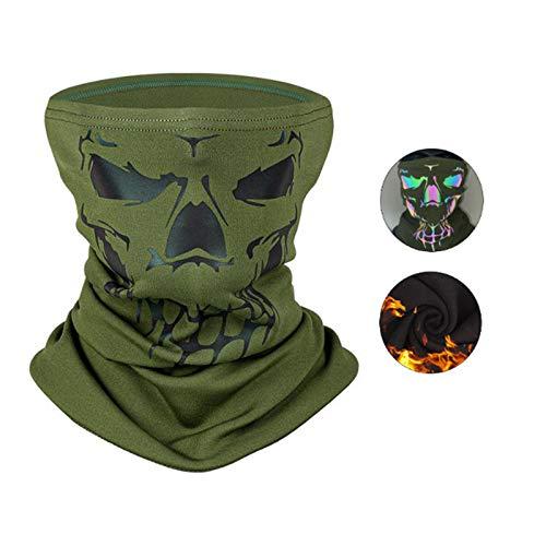 Bandana de terciopelo con diseño de calavera para hombre y mujer, máscara de media cara, protección contra el viento, transpirable, para motociclistas, para montar a caballo