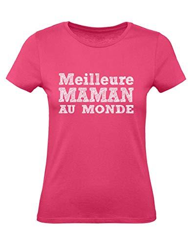 Green Turtle Meilleure Maman au Monde - Cadeau Noël Maman T-Shirt Femme...