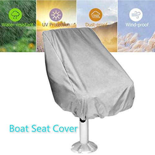 Fantastic Essort Boat Seat Cover Funda Para Asientos De Piloto Para Barcos Folding Pedestal Boat Chair Cover Waterproof Pontoon Captain Seat Chair Cover Machost Co Dining Chair Design Ideas Machostcouk