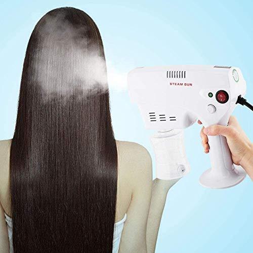 ZYLHC Nuevo experto desinfección pulverizador multifuncional de pelo Vapor pistola, herramienta de tinte for el cabello vapor humidificador cuidado del cabello Hidrata el cabello for el hogar y salone