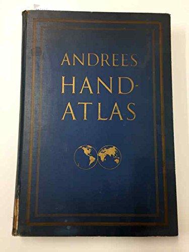 Andrees Handatlas in einem Bande. Herausgegeben von Dr. Konrad Frenzel.