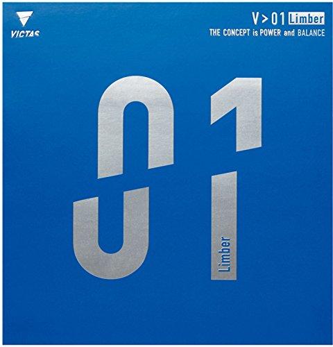 Sale!! VICTAS(ヴィクタス) 卓球 裏ソフトラバー V01 リンバー 020341 レッド 2サã'...