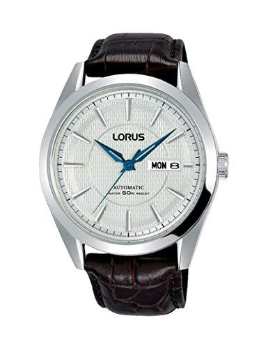 Lorus Watches Reloj para Hombre Analógico de Automático con Brazalete de Piel de Vaca...