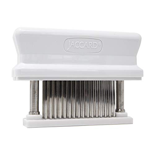 Jaccard 48-Blade Meat Tenderizer, Original Super 3 Meat Tenderizer, 1.50 x 4.00 x 5.75 Inches, White