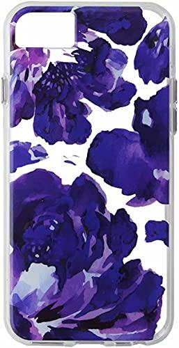 Capa para iPhone 7/8 Pattern Transparente Flower Roxo Milk e Honey