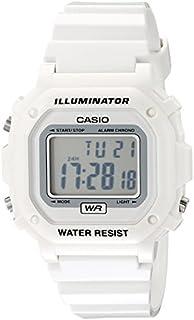 Casio Unisex F108WHC-7BCF White Resin Band Watch