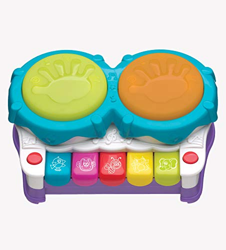 of machine toy with lights dec 2021 theres one clear winner Playgro 2 in 1 Light Up Music Maker for Baby Infant Toddler, Playgro is Encouraging Imagination with STEM/STEM for a Bright Future - Great Start for a World of Learning