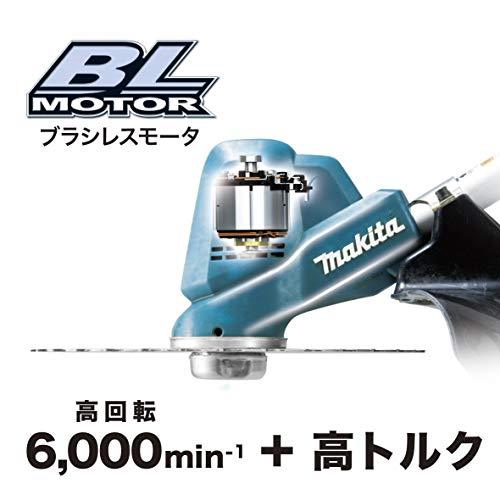 マキタ充電式草刈機18V刈込幅230mmチップソー付2グリップ6Ahバッテリ・充電器付MUR190WDRG