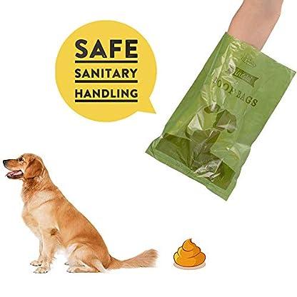 Dog Poop Bags Biodegradable 26 Rolls (390 Counts) Dispenser, Scented Leak-Proof Dog Waste Bags 3
