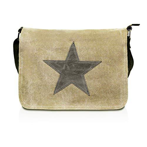 Glamexx24 Tasche Handtaschen Schultertasche Umhängetasche mit Stern Muster Tragetasche