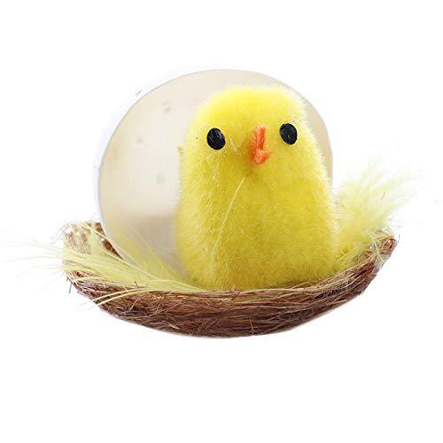Colección de huevos de Pascua/Decoración de Pascua/Artesanía/Muñeca de conejo de Pascua/Cesta de Pascua/Mascarilla de conejo/Huevo de pollito