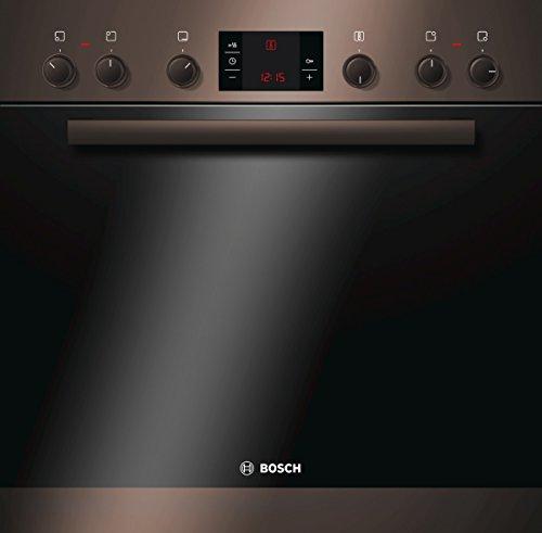 Bosch HND22PS40 Backofen-Kochfeld-Kombination / A / 66 L / braun / 3D Heißluft Plus / 1 Zweikreis-Kochzone