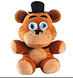 Zolly 10 Inch Five Nights at Freddy's Foxy Plush Toys,Cute Animal Plush Toys Gifts (Hat Bear)