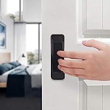 XYZMDJ 4 stks Plak de open schuifdeur handgrepen voor binnendeuren glazen raam kast lade kast zelfklevende handvat