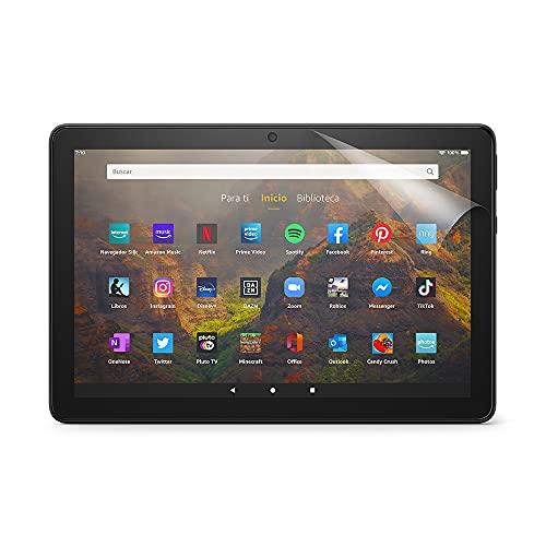 NuPro – Protector de pantalla transparente para tablet Amazon Fire HD 10 (11.ª generación, modelo de 2021), 2 unidades