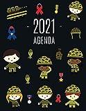 Soldado Agenda 2021: Planificador Enero a Diciembre 2021   52 Semanas Enero a Diciembre 2021