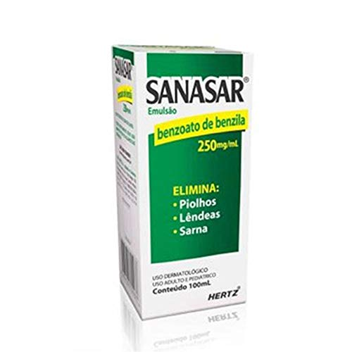 Sanasar 250Mg/Ml Loção Emulsão Tópica Frasco Com 100Ml