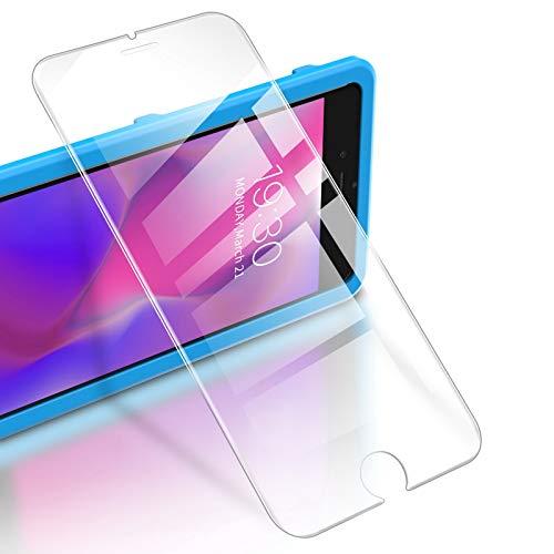 """RIWNNI [3 Pezzi Vetro Temperato per iPhone 8/7/SE 2020, 9H Durezza Pellicola Protettiva Ultra Sottile Protezione Schermo Senza Bolle [Cornice di Allineamento] per iPhone 8/7/SE 2 4.7"""" - Trasparente"""