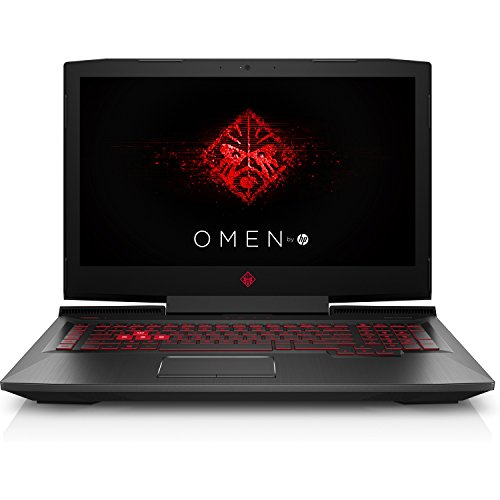 HP OMEN 17-AN012DX 17.3in Gaming Laptop, Intel i7-7700HQ Quad-Core 2.80GHz, AMD Radeon RX580 8GB, 12GB DDR4, 1TB SATA, 802.11ac, W10H...