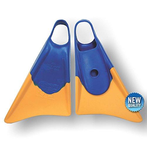 Bodyboard aletas CHURCHILL Makapuu M Blue/Yellow