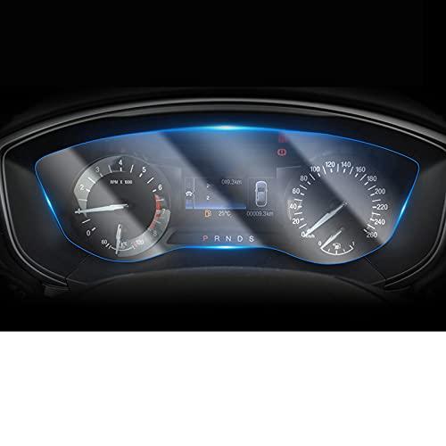 Panel de instrumentos para el interior del automóvil Membrana Pantalla LCD Tpu Película protectora Película antirrayas, para Ford Fusion Mondeo 2019 20201 Uds
