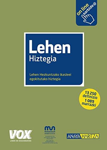 Lehen Hiztegia (Vox - Lengua Vasca)