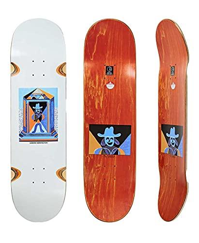 Polar Skate Co Mausoleum Aaron Herrington Wheels Wells Deck 8.5 Zoll Grip