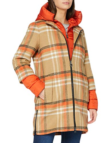 Bugatti Damen 662611-64035-920 Wollmischungs-Mantel, apricot, 42