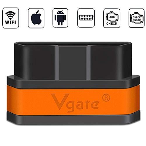 vgate None icar WiFi, Schwarz-orange
