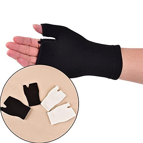 1 PAPAUR Nuevo Ventilador DE Mujer DE VENTILACIÓN ULTRÁTICA Artritis de la Artritis Soporte de Manguito Guante Elástico Palm Mano Muñeca Apoya a la atención médica (Color : White)