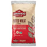 Arrowhead Mills Cereal, Puffed Wheat, 6 oz. Bag (Pack of 12)