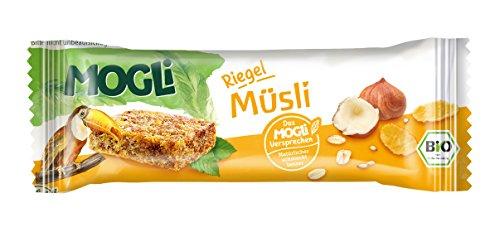 MOGLi Bio Riegel Müsli 15er Vorrats-Pack (15x25g)