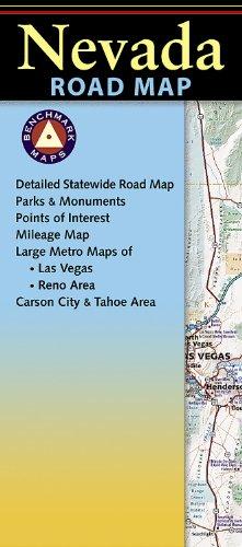 Nevada Road Map (Benchmark Maps: Nevada)
