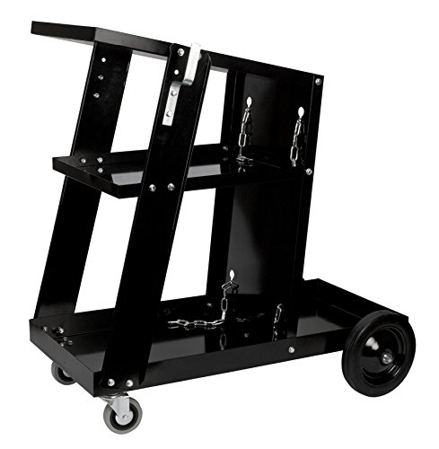 Performance Tool W53992 Welding Cart, Universal, Black Universal Welding Cart