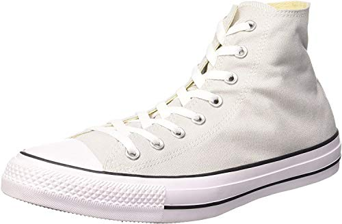 Converse Sneaker All Star Hi Canvas, Sneakers Unisex Adulto, Grigio (Mouse White), 38 EU